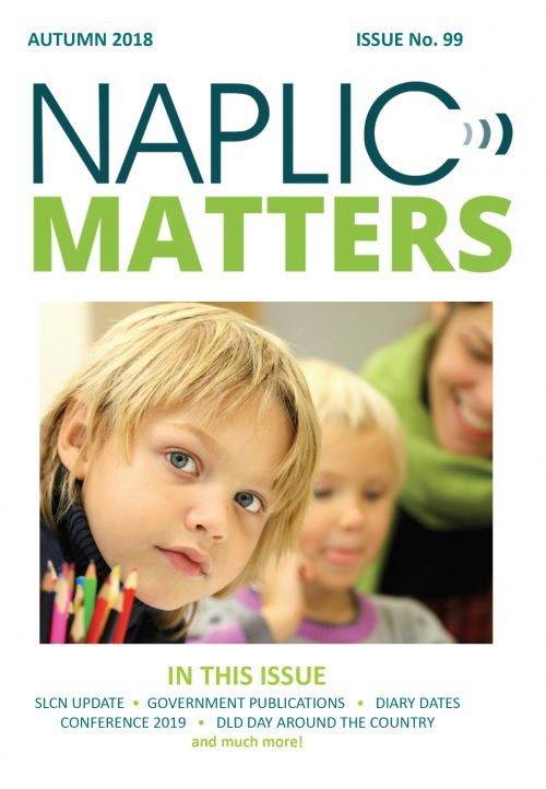 NAPLIC newsletter Autumn 2018
